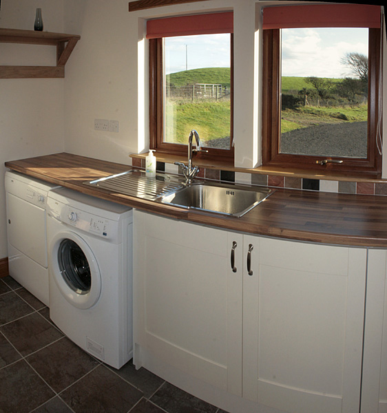 Self catering galloway rooms and facilities for Utility rooms uk